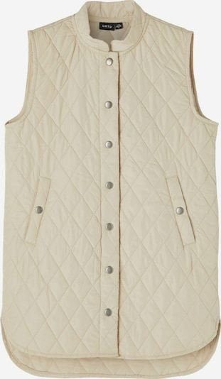 NAME IT Bodywarmer in de kleur Sand, Productweergave