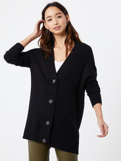 ONLY Strickjacke in schwarz, Modelansicht