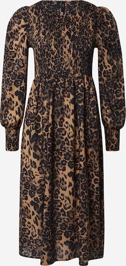 Y.A.S Kleid 'Leonora' in braun / schwarz, Produktansicht