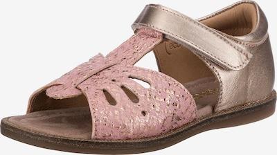 BISGAARD Sandalen in gold / rosa, Produktansicht
