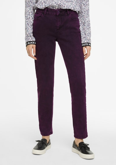 Ci comma casual identity Jeans in lila, Modelansicht