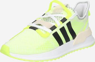 neonsárga / fehér ADIDAS ORIGINALS Rövid szárú edzőcipők, Termék nézet