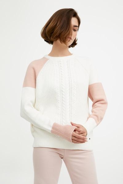 Finn Flare Pullover in weiß, Modelansicht