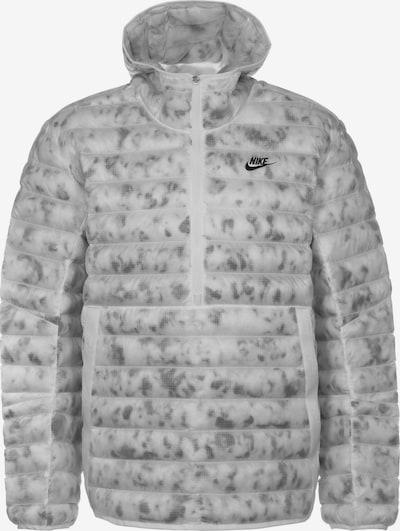 Nike Sportswear Winterjas 'Insulated Revival' in de kleur Grijs / Wit, Productweergave