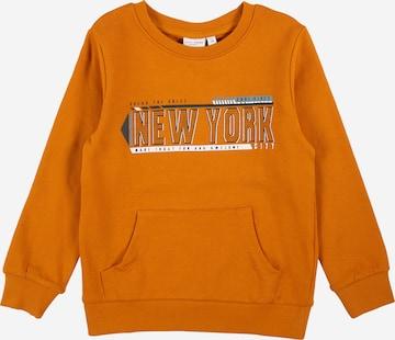 NAME IT Sweatshirt 'Vildar' in Orange
