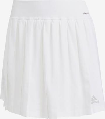 ADIDAS PERFORMANCE Athletic Skorts 'Club Tennis' in White