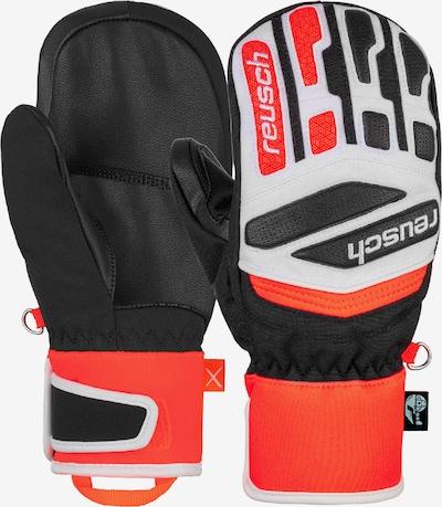 REUSCH Fäustling 'Worldcup Warrior Prime R-TEX® XT Junior Mit' in rot / schwarz / weiß, Produktansicht