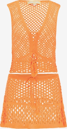 MYMO Top und Rock in orange, Produktansicht
