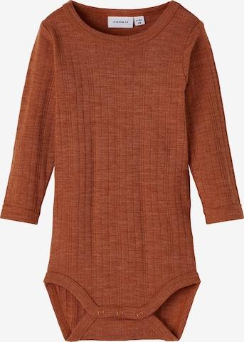 NAME IT Romper/bodysuit 'Wang' in Brown