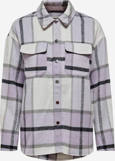 ONLY Prechodná bunda - fialová / čierna / biela, Produkt