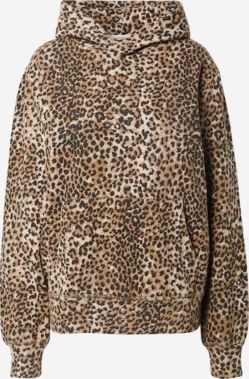 Ragdoll LA Sweatshirt in creme / hellbraun / schwarz, Produktansicht
