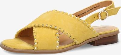 MEXX Sandale 'GALICE' in gelb, Produktansicht