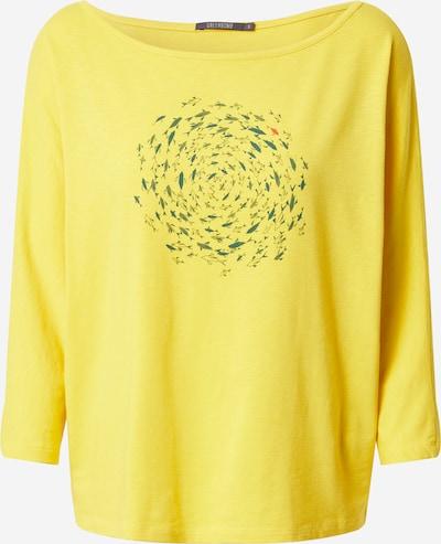 GREENBOMB Shirt in gelb / khaki / dunkelgrün, Produktansicht