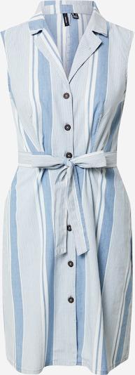 Palaidinės tipo suknelė 'Akelasandy' iš VERO MODA, spalva – mėlyna dūmų spalva / balta, Prekių apžvalga