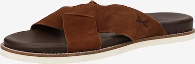 SANSIBAR Pantolette in braun, Produktansicht