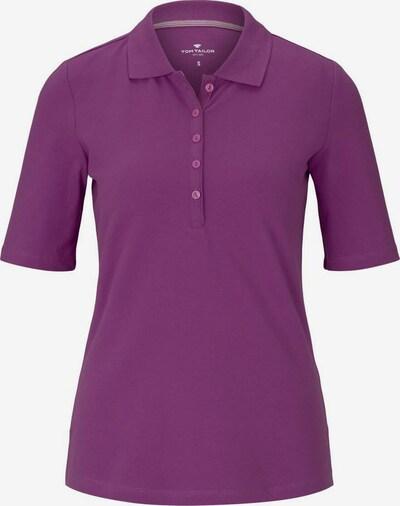 TOM TAILOR Poloshirt in lila, Produktansicht