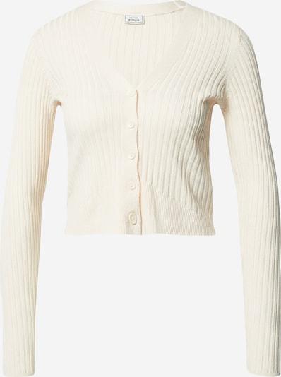 Pimkie Gebreid vest in de kleur Wit: Vooraanzicht