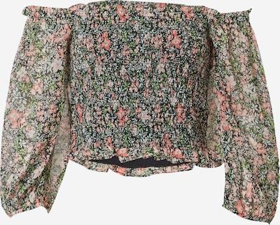 Miss Selfridge Shirt in hellblau / hellgrün / rosa / schwarz, Produktansicht