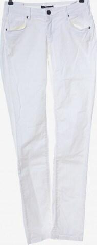 Cimarron Straight-Leg Jeans in 25-26 in Weiß