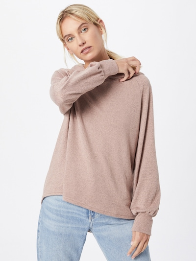 ONLY Shirt 'ELCOS EMMA' in puder: Frontalansicht