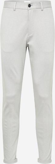 Lindbergh Pantalon chino en gris clair / blanc, Vue avec produit