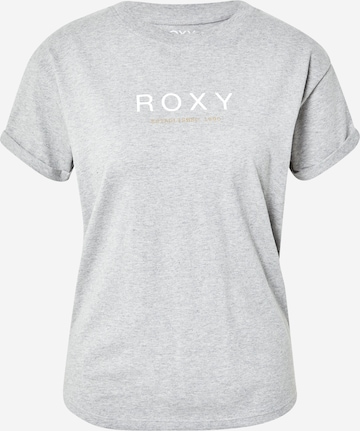 ROXY Shirt 'EPIC AFTERNOON WORD' in Grey