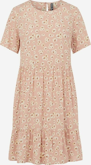 PIECES Summer Dress in Auburn / Light yellow / Dusky pink / White, Item view