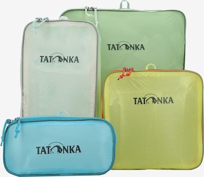TATONKA Make up tas 'SQZY' in de kleur Blauw / Geel / Groen / Rood / Wit, Productweergave