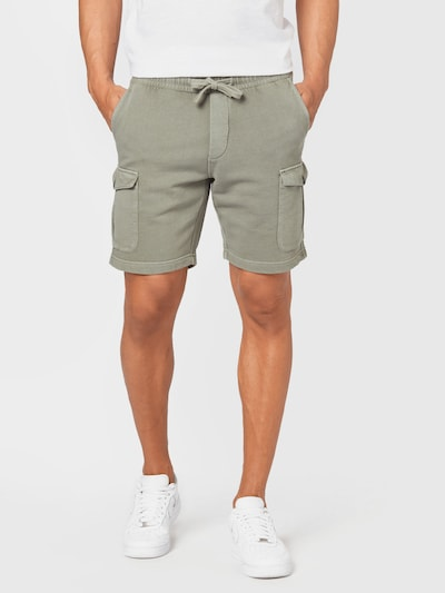 Marc O'Polo Shorts in pastellgrün, Modelansicht