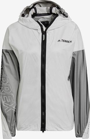 adidas Terrex Athletic Jacket 'Agravic Pro Trail' in White