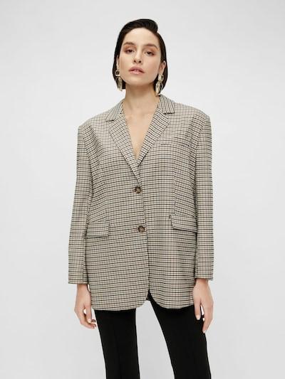Y.A.S Blazer in beige / braun / schwarz, Modelansicht