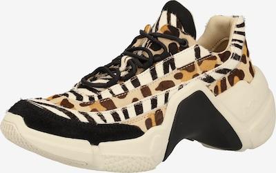 SKECHERS Sneaker in beige / schwarz / weiß, Produktansicht
