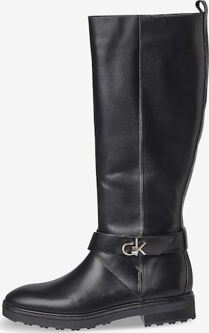 Calvin Klein Boots in Schwarz