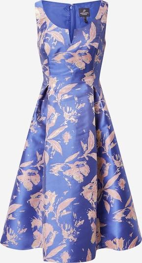 Adrianna Papell Robe de cocktail en bleu roi / rose, Vue avec produit