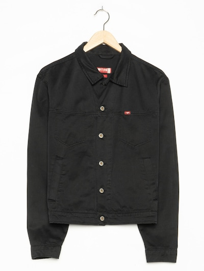 MUSTANG Jeansjacke in M-L in black denim, Produktansicht