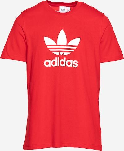 ADIDAS ORIGINALS Shirt in rot / weiß, Produktansicht