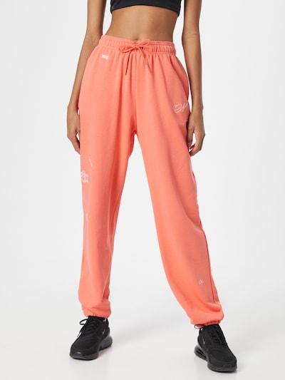 Nike Sportswear Nohavice - lososová / biela, Model/-ka