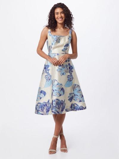 Adrianna Papell Kleid in blau / hellblau / silber / naturweiß, Modelansicht