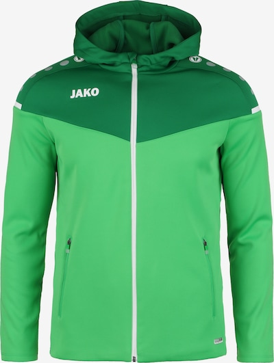 JAKO Jacke in grasgrün / neongrün / hellgrün / dunkelgrün / grünmeliert / naturweiß, Produktansicht