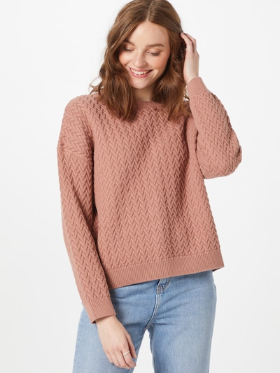 ABOUT YOU Pullover 'Layla' in altrosa, Modelansicht