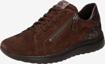 SIOUX Sneakers ' Maliske' in Brown