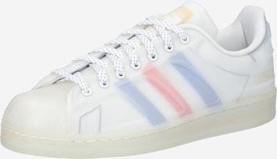 ADIDAS ORIGINALS Zemie brīvā laika apavi 'Superstar', krāsa - opālisks / rožkrāsas / balts, Preces skats