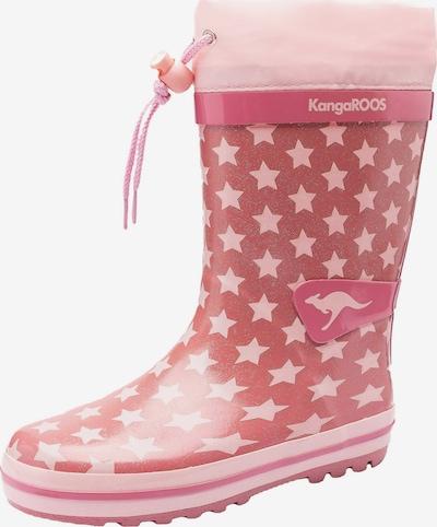 KangaROOS Gummistiefel in pink / rosa, Produktansicht