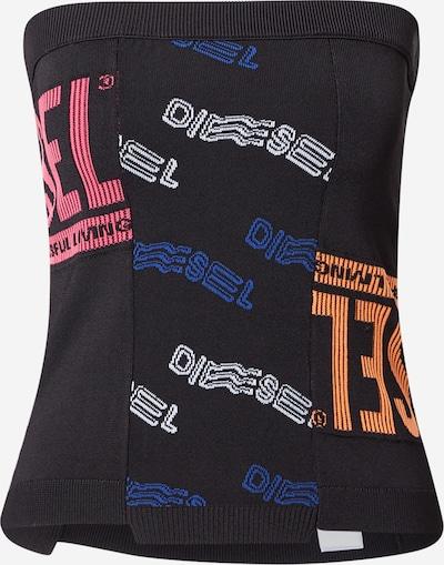 DIESEL Gebreide top in de kleur Donkerblauw / Donkeroranje / Pink / Zwart / Wit, Productweergave