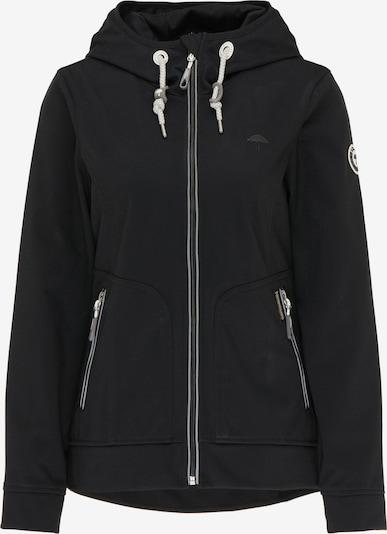 Schmuddelwedda Functionele jas in de kleur Lichtgrijs / Zwart / Wit, Productweergave