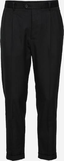 Klostuotos kelnės iš AllSaints, spalva – juoda, Prekių apžvalga