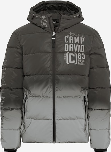 CAMP DAVID Jacke in grau / hellgrau, Produktansicht