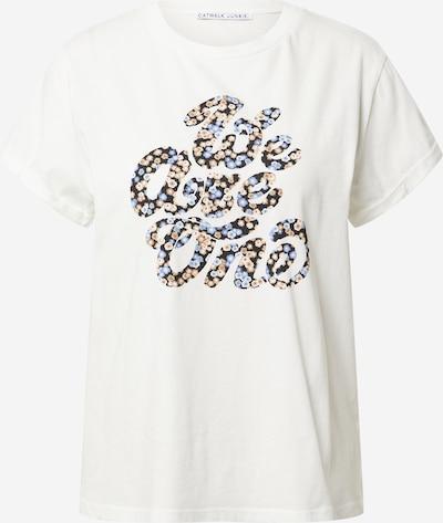 CATWALK JUNKIE Shirt in beige / hellblau / orange / schwarz / weiß, Produktansicht