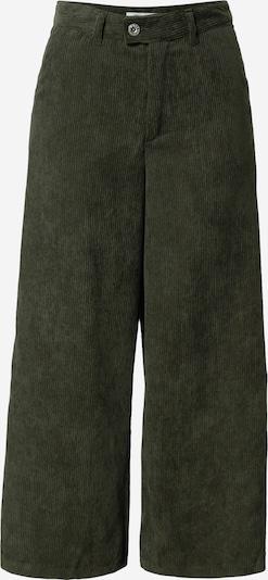 ONLY Pantalon 'Elvira' en vert foncé, Vue avec produit