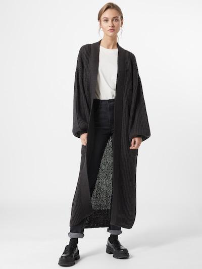 Noisy May (Tall) Pletený kabát 'MOLLIE' - antracitová, Model/-ka